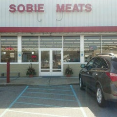 Photo taken at Sobie Meats by Mike H. on 3/14/2012
