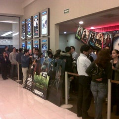 Photo taken at Cinemex by Sergio C. on 7/28/2012