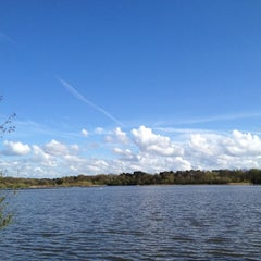 Photo taken at Fleet Pond by Ekaterina L. on 4/27/2012