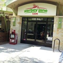 Photo taken at Kerbey Lane Cafe by Carlos G. on 9/8/2012