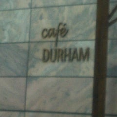 Photo taken at Café Durham by Greg Q. on 2/18/2012