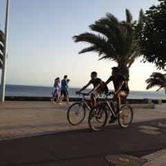 Photo taken at Avda De Las Playas by María L. on 8/8/2012