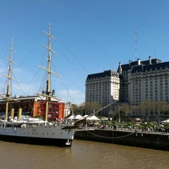 Photo taken at Puerto Madero by Tyler B. on 9/2/2012