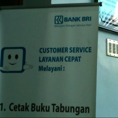 Photo taken at Bank BRI by Rakhmad I. on 8/15/2012
