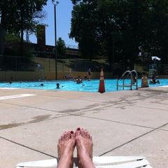 Photo taken at Upshur Swimming Pool by Tammy G. on 7/4/2012