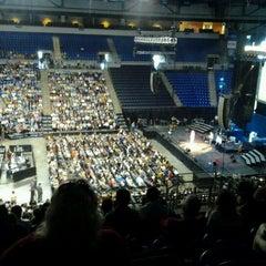 Photo taken at Saint Louis University by Steph B. on 4/8/2012