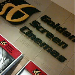Photo taken at Golden Screen Cinemas (GSC) by Sachiko M. on 7/15/2012