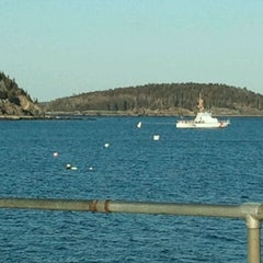 Photo taken at Bar Harbor Pier by Tom A. on 3/6/2012