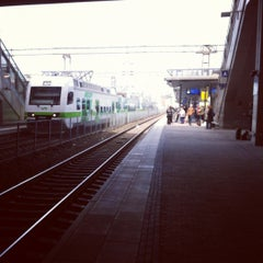 Photo taken at VR Pasila by Pauliina M. on 4/27/2012