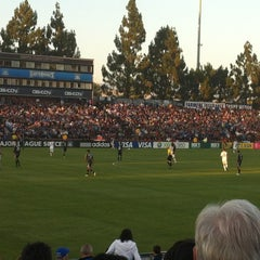 Photo taken at Buck Shaw Stadium by Kirsten on 7/15/2012