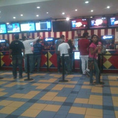 Photo taken at Cines Unidos by Francisco P. on 9/10/2012