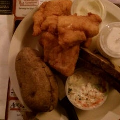 Photo taken at Lake Park Tavern by Kristen M. on 3/10/2012