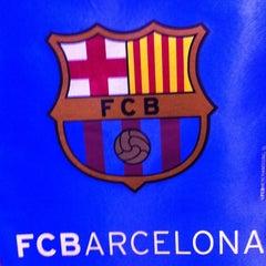Photo taken at FCBotiga Maremagnum by Ozan K. on 3/21/2012