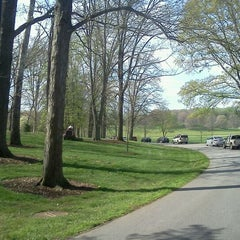 Photo taken at Biltmore Estate Main Gate by Jay G. on 4/2/2012