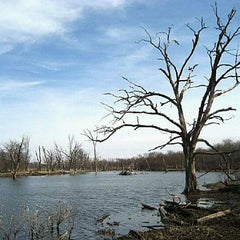 Photo taken at George Wyth Brinker Lake by JJT T. on 4/29/2012