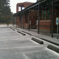 Photo taken at KCLS Shoreline Library by Carrie P. on 2/26/2012