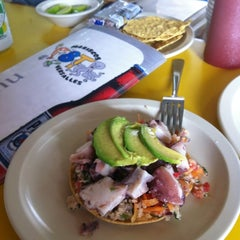 Photo taken at Las 8 tostadas by CARLOS G. on 8/16/2012