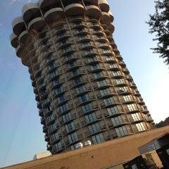 Photo taken at Radisson Hotel Cincinnati Riverfront by Erin L. on 5/19/2012