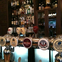 Photo taken at Belgian Beer Café Brussels by Sam H. on 3/24/2012