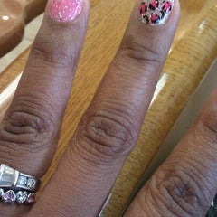 Photo taken at First Class Nails & Spa by Tasha M. on 5/19/2012