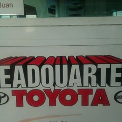 Photo taken at Headquarter Toyota by Shaquira B. on 4/1/2012