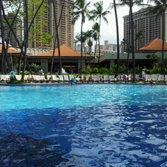 Photo taken at Super Pool and Keiki Pool (Children's Pool) by Jessica G. on 5/5/2012