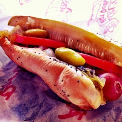 Photo taken at Portillo's Hot Dogs by Grace C. on 8/30/2012