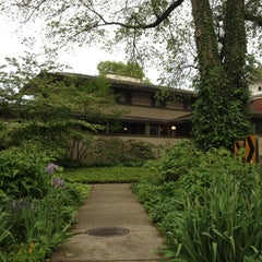 Photo taken at Frank Lloyd Wright Home and Studio by Son E. on 5/7/2012
