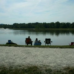 Photo taken at Barboursville Park by Roy K. on 6/9/2012