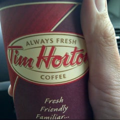 Photo taken at Tim Hortons by Jennifer P. on 7/21/2012