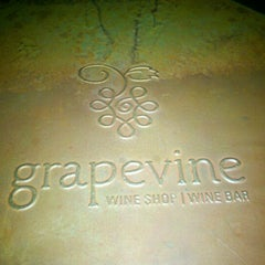 Photo taken at grapevine Wine Shop | Wine Bar by Theresa C. on 7/29/2012