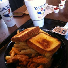 Photo taken at Zaxby's by Philip C. on 2/23/2012