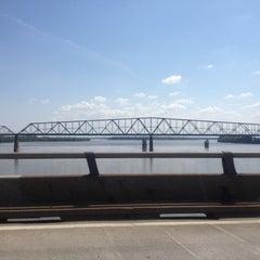 Photo taken at Missouri / Illinois State Line by Julia P. on 5/13/2012