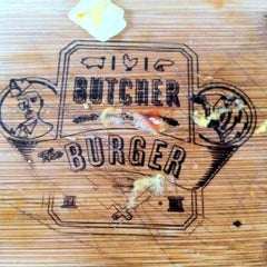 Photo taken at Butcher & The Burger by Dj EDLo P. on 4/2/2012
