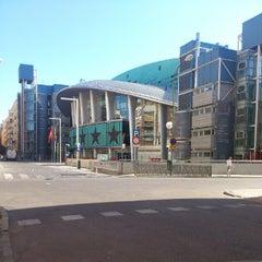 Photo taken at Barclaycard Center - Palacio de Deportes de la Comunidad de Madrid by Xoxe G. on 7/1/2012