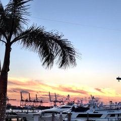 Photo taken at Monty's Sunset by Luke D. on 2/11/2012