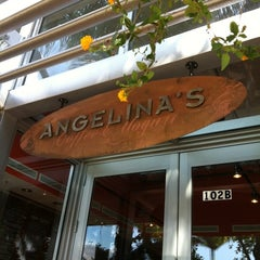 Photo taken at Angelina's Coffee & Yogurt by Paola P. on 4/2/2012
