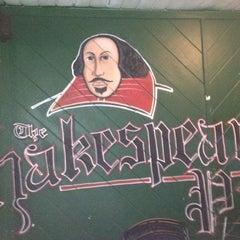 Photo taken at Shakespeare Pub by Ryan B. on 3/20/2012
