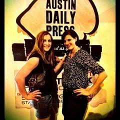 Photo taken at Austin Daily Press by Justin H. on 3/31/2012