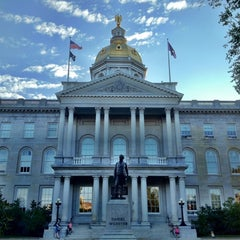 Photo taken at New Hampshire State House by Sven on 8/20/2012