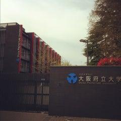 Photo taken at 大阪府立大学 中百舌鳥キャンパス by meganii on 4/15/2012