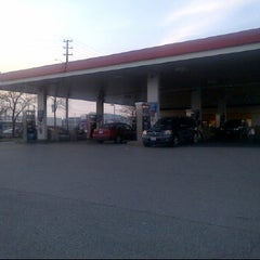 Photo taken at Esso by Dan L. on 3/18/2012