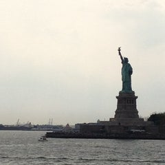 Photo taken at Staten Island Ferry Boat - Spirit Of America by Caitlin B. on 5/27/2012