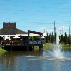 Photo taken at Uncle Mike's Smokehouse Grill by Mary Chris L. on 3/18/2012