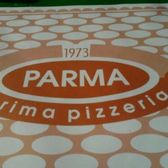 Photo taken at Pizzeria Parma by Deja M. on 3/15/2012