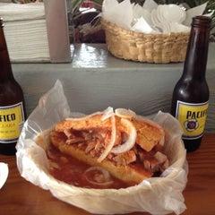 Photo taken at Tortas Toño by Ernesto M. on 5/5/2012