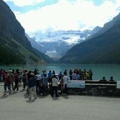 Photo taken at Lake Louise by Jay C. S. on 7/25/2012