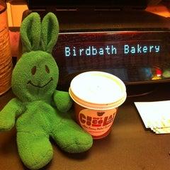 Photo taken at Birdbath Neighborhood Green Bakery by greenie m. on 2/29/2012