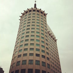 Photo taken at ホテル ザ・マンハッタン(HOTEL THE Manhattan) by cousin on 7/24/2012