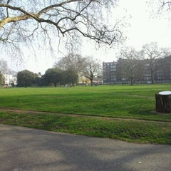 Photo taken at Kennington Park by Tim B. on 3/1/2012